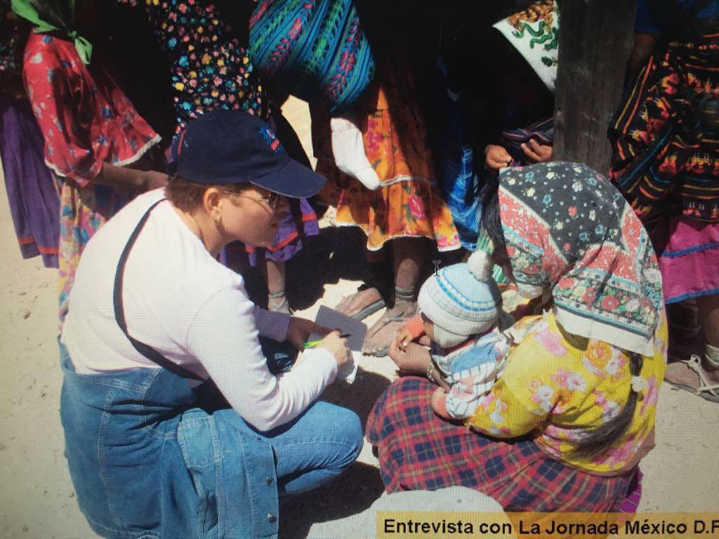 11. Breach inició su carrera periodística en Chihuahua. De La Jornada