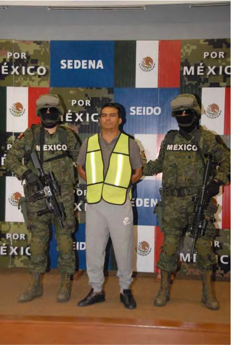 11. Foto detención de Alfredo Salazar Ramírez. Sedena