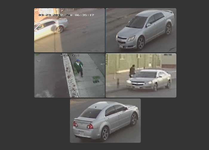 27. Fotografías de cámaras de seguridad