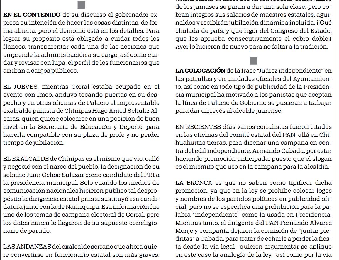 9. Columna Don Mirone