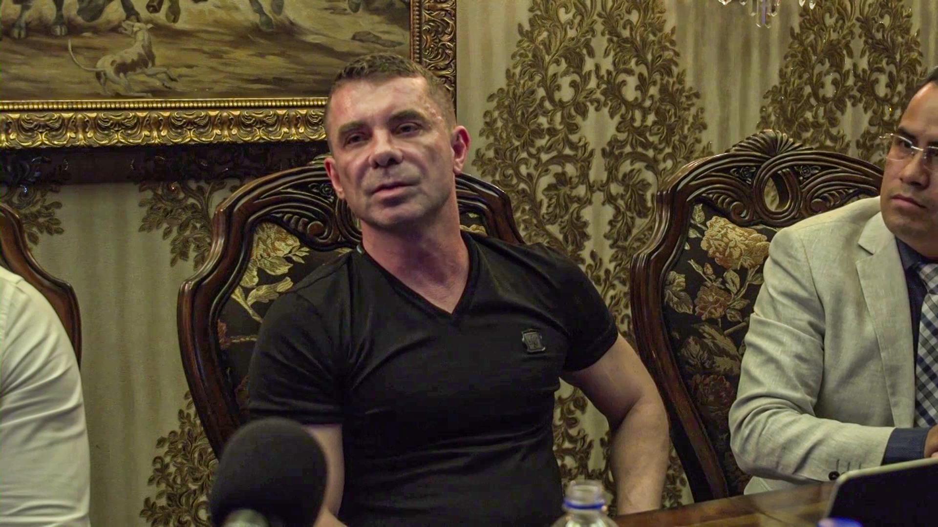 Florian Tudor press conference
