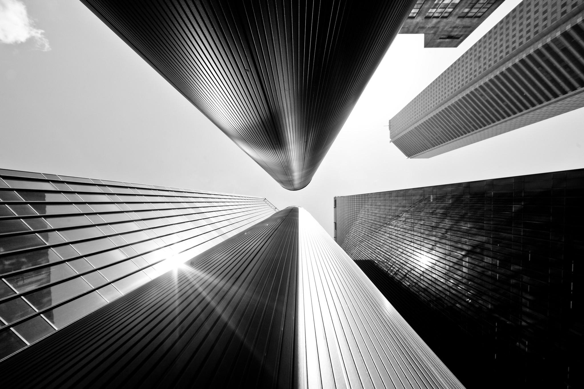 JP Morgan Chase Towers by Thomas Hawk